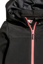 Softshell jacket - Black -  | H&M 3